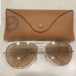 Ray-Ban Cockpit (gold/light brown)